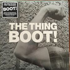 THE THING - BOOT SEALED VINYL LP TROST FREE JAZZ MATS GUSTAFSSON PAAL INGEBRIGT