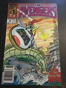 Avengers#292 Awesome Condition 8.0(1988) 1st Lady Kang(cameo)