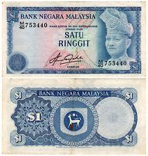 Malaysia $1 P#13b (1981) Bank Negara Malaysia VF