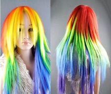 50cm Rainbow My Little Pony Friendship Is Magic wig z88867