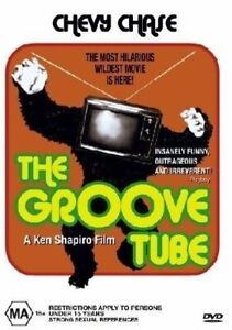 The Groove Tube DVD - CHEVY CHASE MOVIE 1974 - Region 4 Australia