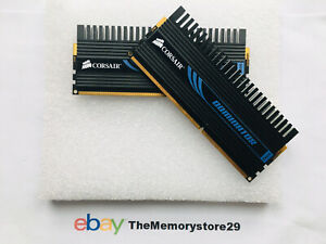 2GB 2 X 1GB Corsair Dominator DDR3 Memory RAM PC3-10600 1333MHz DIMM 240 Pin