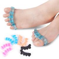 2pcs/1Pair Toe Separators Orthotics Stretchers Align Correct Overlapping ToeT az