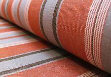 Markisenstoff terracotta schlamm 160cm breit Stoff für Markisen Outdoorstoff 105