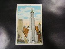 Postcard Chrysler Building New York City NY Unused