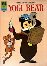 Yogi Bear #8 Very Good, Writing on cover, Dell 1962