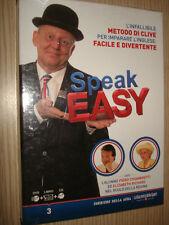 SPEAK EASY N° 3 CORSO DI INGLESE DVD+LIBRO+CD ENGLISH CHIAMBRETTI RICHARD