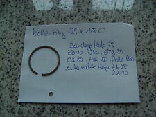 Zündapp Bergsteiger, M25, M50, Kolbenring, 39x1,5 C