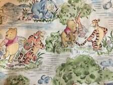 Winnie The Pooh Fabric Disney Eeyore Tigger  Toile  100% Cotton Fabric