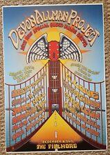Allman Betts Band Poster Gregg Allman 70th Bday Robert Randolph The Fillmore