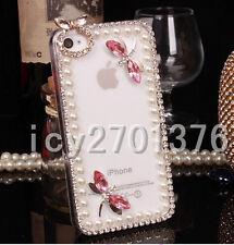Bling Luxury Crystal Rhinestone Diamond Soft Silicone Gel Rubber Cover Case #B