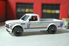 Hot Wheels 2017 - Datsun 620 Pickup Truck - White  - Loose 1:64