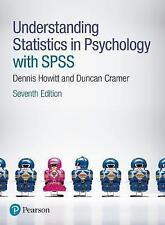 Understanding Statistics in Psychology with SPSS by Duncan Cramer, Dennis...