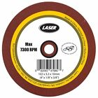 LASER Grinding Wheel 1/8 Inch Size - 102 x 3.2 x 10mm For Sharpening Chain