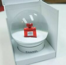 Red CHANEL Snow Globe 2018 rare Red No 5 perfume bottle gift Limited VIP(DHL)