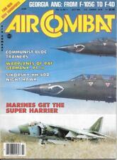 Air Combat July 1984 Sikorsky HH-60D Night Hawk Marines Super Harrier ANG F-105G