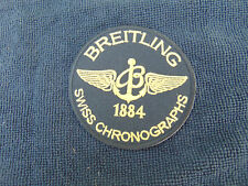 """Breitling """"Swiss Chronograph Patch"""" In Black & Gold"""