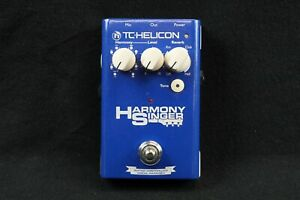 TC Helicon Harmony Singer Vocal Reverb Harmonizer Effects Pedal AS-IS