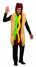 Hot Dog Adult Costume Food Cart Wiener Sausage Adult One Size Fits Most Unisex