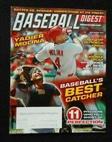 JULY/AUGUST 2013 Baseball Digest  YADIER MOLINA on Cover
