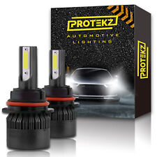 Protekz LED Headlight Hi & Low Kit H4 HB2 9003 for Mitsubishi Diamante Montero