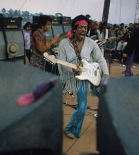 Jimi Hendrix UNSIGNED photograph - L2894 -  Woodstock, August 1969. - NEW IMAGE