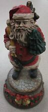 "Nice Santa Claus Music Box Plays ""We Wish You a Merry Christmas"" FREE SHIPPING"