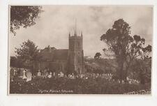 Hythe Parish Church Kent England Vintage Postcard Us051