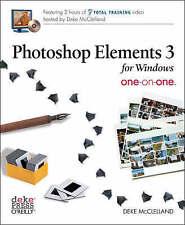 Photoshop Elements 3 One-on-One, Deke McClelland, New Book