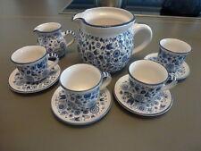 Hübsches Mocca Espresso Set mit 2 Milch Kannen neuwertig
