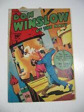 Don Winslow of the Navy #63 (Fawcett Comics 1948) VG-