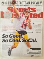 SPORTS ILLUSTRATED MAGAZINE AUGUST 2017 DOUBLE ISSUE COLLEGE FOOTBALL PREVIEW