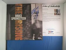 Bruce Springsteen Signed The Rising Vinyl Album PSA DNA COA LOA Autograph RARE