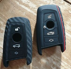 Silicone Fob Key Case Cover for BMW F10,20,30 with 4 Buttons