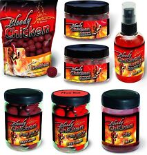 Quantum Boilies Boilie Bloody Chicken, Dip, Pop Up, Spray, Method Marbles Dumble