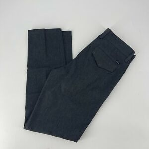 RVCA  Tenore Dress Pants Mens Size 28 X 30 Dark Gray Straight Leg Trousers Slack