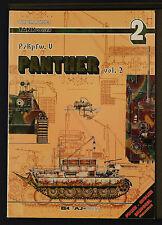 TANK POWER PzKpfw V PANTHER Vol 2 Waldemar Trojca First Ed1999 AJ Press Softback