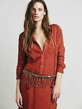 Free People Bronze Tangier Chain Belt