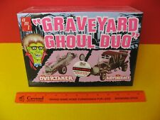 2012 AMT GRAVEYARD GHOUL DUO DRAG-U-LA BARRIS MUNSTERS COACH AUTOWORLD EXCLUSIVE