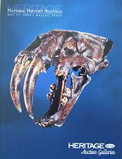 HERITAGE Natural History Auction – La Brea Tar Pit Sabre-Tooth Tiger Skull