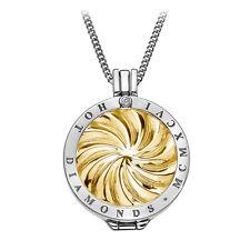 Emozioni Hot Diamonds Sterling Silver Golden Windmill coin 25 mm