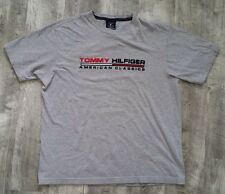 Vintage Tommy Hilfiger American Classic Spellout Flag T-shirt size Medium