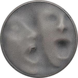 TRAP ATTACK - 1 oz Silver Antique Finish Coin in Box+COA - 2021 Cook Islands $5