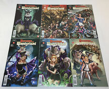 Zenescope REVENGE OF WONDERLAND comics #1 2 3 4 5 6 ~ FULL SET