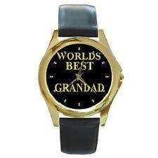 Worlds Best Grandad NANNA NONNO Orologio da polso ** GRANDE REGALO ***