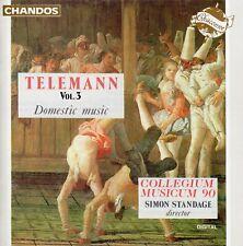 Telemann, Vol.3 - Domestic Music / Collegium Musicum 90