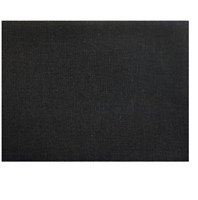 Wichelt Permin PREMIUM LINEN FABRIC 32 Ct Cross Stitch 18 x 27 CHALKBOARD BLACK