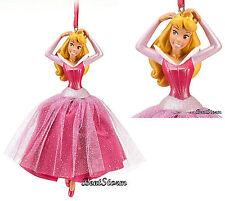 NEW Disney Store Princess Aurora Sleeping Beauty Christmas Holiday Ornament 2012