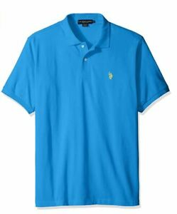 Men's Classic Polo Shirt Aqua