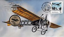 **2014 Australian   Centenary of The First Air Mail $1 coin PNC **